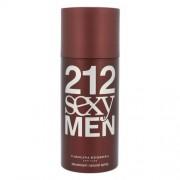 Carolina Herrera 212 Sexy Men дезодорант 150 ml за мъже