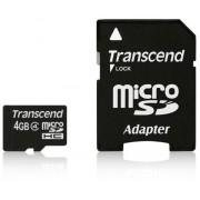 Karta pamięci micro SDHC 4GB klasa 4
