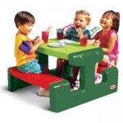 Маса за пикник - Зелена - Little Tikes, 320012