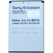 100 New Sony Ericsson BST-41 BST41 battery FOR Xperia X10 X1 X2 X10i (1500mAh)