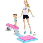Set de joaca - Barbie Papusa Gimnasta