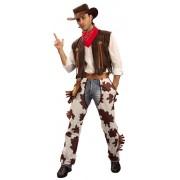 Vegaoo Huston - Cowboydräkt till maskeraden för vuxna XL