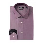 BOSS Jesse Slim Fit Solid Dress Shirt DARK PINK