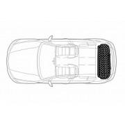Covor portbagaj tavita Toyota Land Cruiser Prado (J120) 2002-2009 5 usi COD: PB 6671 PBA2 AutoCars