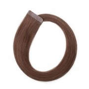 Rapunzel® Hair extensions Quick & Easy Original Glatt 5.1 Medium Ash Brown 50 cm