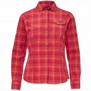 FRILUFTS AZUA L/S SHIRT Frauen Gr.36 - Outdoor Bluse - rot