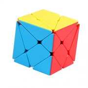 Anbau 3x3 Irregular Transforming Axis Magic Cube Speed Twist Abnormity Blocks Puzzles Kids IQ Training Educational Intelligence Toy Gift