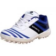 Zigaro ZIGARO GLANCEE CRICKET SHOE Cricket Shoes For Men(Blue, White)