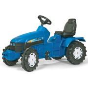 Tractor cu pedale copii Rolly Toys 036219 albastru