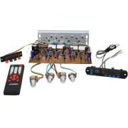 Barry John 300W DIY 2n3055 Transistor Stereo Audio Amplifier Board with Bluetooth Module Remote Speaker Socket 3 duel