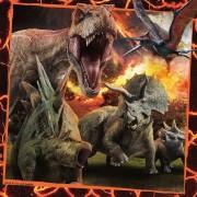 Puzzle Ravensburger - Jurassic World, 3x49 piese (08054)