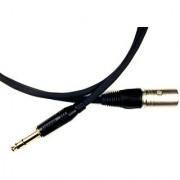 Conquest Sound BLCMN 25 Balanced Line Cable 25-Foot - Neutrik XLR Male to Amphenol 1/4-Inch Black/Gold Plug