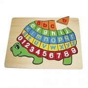 Legler ABC Puzzle Turtle Non-Wooden Puzzles