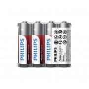 Philips LR6P4F/10 - 4 buc Baterie alcalina AA POWER ALKALINE 1,5V