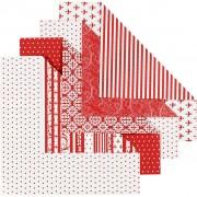 Vivi Gade Origamipapper, stl. 15x15 cm, 80 g, 50 mix. ark