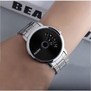 PAIDU Watch Black Stainless Steel Turntable Men's Watch Men Watch Fashion Luxury Watches Men