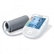 Magyarul beszélő felkaros vérnyomásmérő szívritmus-zavar jelzéssel, Beurer BM-49
