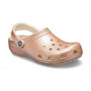 Crocs Classic Metallic Klompen Unisex Rose Gold 41
