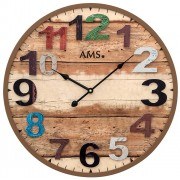 Ceas de perete AMS 9539 modern - Serie: AMS Design
