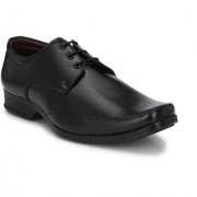 BB LAA Men's Black Lace-up Smart Formals Shoes