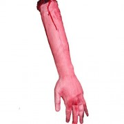 Elevin(TM) 1 PC Halloween Horror Props Bloody Big Size Left and Right Hand Haunted House Party Decoration (Left)