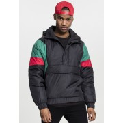3-Tone Pull Over Jacket black/green/fire red XXL