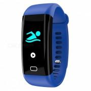 F07 Pulsera Inteligente Bluetooth Con Monitor De Frecuencia Cardiaca? Podometro? Rastreador De Fitness Deportivo - Azul
