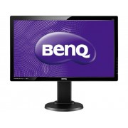 BenQ GL2450HT schwarz LED-monitor 61 cm (24 inch) Energielabel B 1920 x 1080 pix Full HD 2 ms DVI, HDMI, VGA TN LED