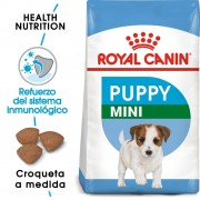 8kg Mini Junior Royal Canin pienso para cachorros