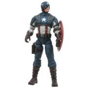 Diamond Select Toys Marvel Select 1st Avenger Captain America Action Figure, Multi Color