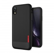 Funda IPhone XR VRS DESIGN (VERUS) Single Fit - Negro