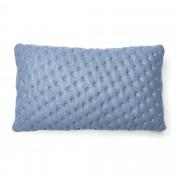 Kave Home Capa de almofada acolchoada Kam 30 x 50 cm azul claro