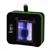 Lector de sensor de escaner de huellas dactilares con identificacion optica USB - negro