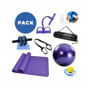 Pack de yoga 8 en 1