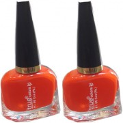 True Colors Orange Nail Paint/Color (Set of 2)