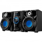MINI SYSTEM MONDIAL 260W RMS, USB e Rádio AM/FM