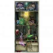 Merkloos Horror koelkast scenesetter/deurposter Halloween 76 x 152 cm