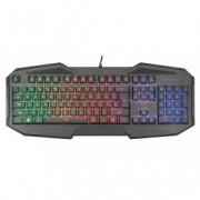 TRUST gaming gxt 830-rw avonn tastatura crna 21621