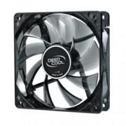 Вентилатор 120мм DeepCool Wind Blade 120, 3 pin, 1300rpm, бяла LED подсветка