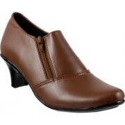 MSL Classic Slip On Shoes(Tan)