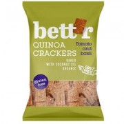 Crackers cu quinoa, rosii si busuioc fara gluten eco 100g