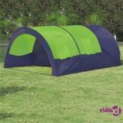 vidaXL Poliestera Kamp šator 6 osoba plavo-zeleni