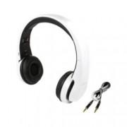 Слушалки LogiLink BT0017, Bluetooth 3.0, 15 часа време за работа, обхват до 10м, бели