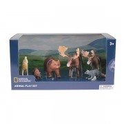SET 6 FIGURINE - ANIMALUTE SALBATICE - NATIONAL GEOGRAPHIC (NTB03007)