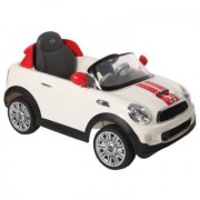 ROLLPLAY Mini Cooper S Coupe 6V, bianco