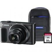 Canon Digital Camera PowerShot SX620 HS 21.1 Megapixel Black + 1 x 32GB SD Card, 1 x Case