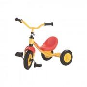 Rolly toys 81278 veicolo a pedali bingo, telaio giallo, ruote silenziose