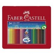 CREIOANE COLOR FABER-CASTELL GRIP SET 24 CULORI CUTIE METAL - FC112423