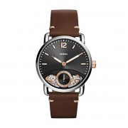 Часовник FOSSIL - The Commuter Twist ME1165 Brown/Silver