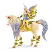 Schleich Bayala Fee Sera mit Blossom Unicorn Toy Figure (70565)